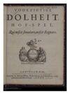 1650 Voorzigtige Dolheit Hof spel In five act Page 01